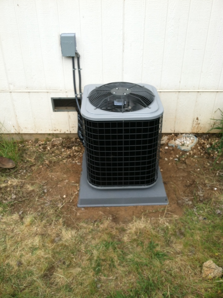 Newcastle, CA - Installed new furnace and a/c