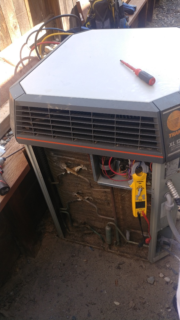 Rocklin, CA - I'm working on a 25 Yrs. Trane A/C located in Rocklin, Ca