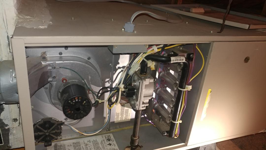 Folsom, CA - I'm working on a 15 yrs. York furnace located in Folsom, Ca
