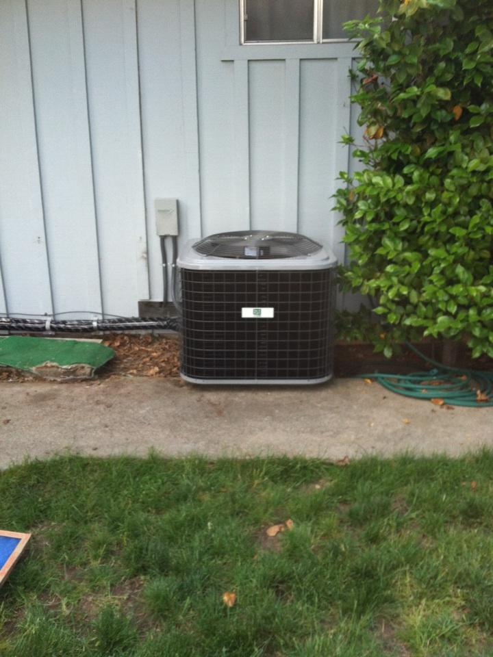 Diamond Springs, CA - Installed new heat pump