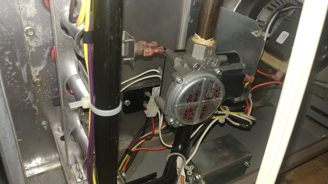 Carmichael, CA - I'm working on a 9 yrs. Old York gas furnace located in Sacramento, CA