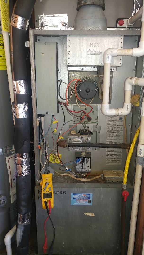 Folsom, CA - I'm working on a 29 Coleman furnace located in Folsom, Ca