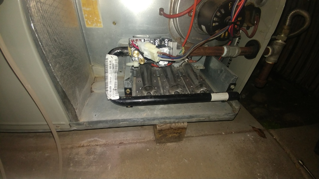 Antelope, CA - I'm working on a 10 yr. Old Trane gas package unit located in Fair oaks, ca