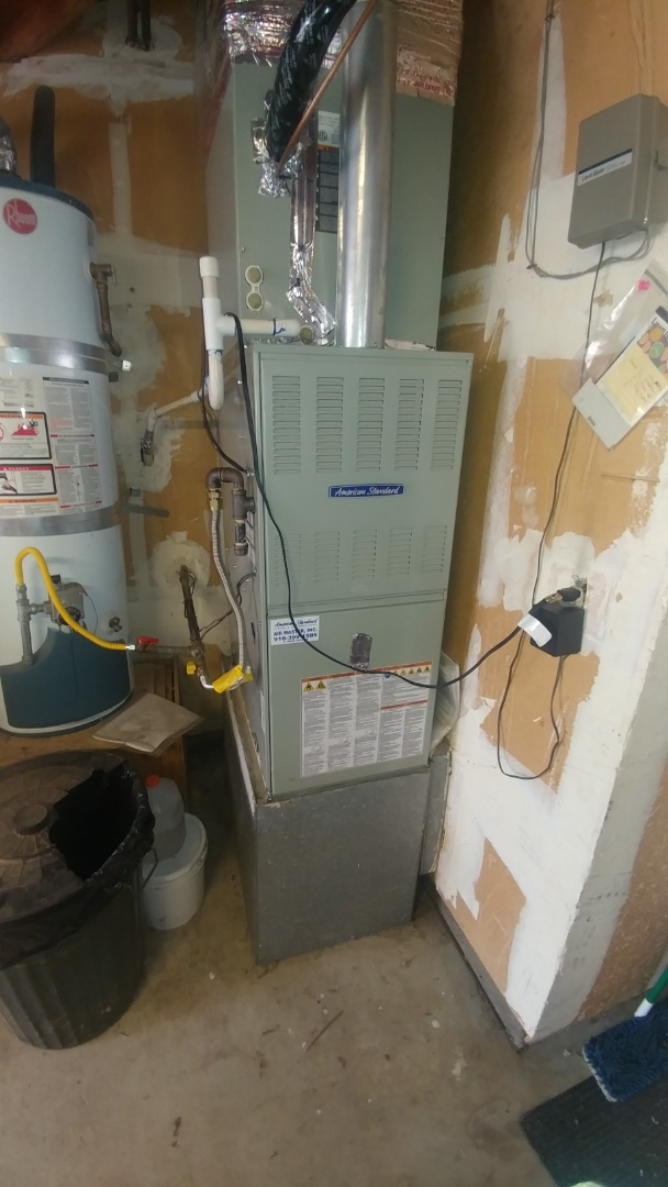Sacramento, CA - I'm working on a 6 yrs. Old. Trane Gas furnace located in Sac, Ca