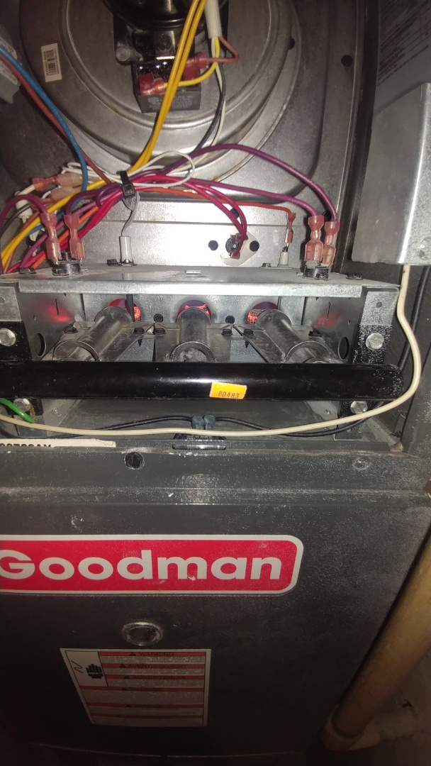 Sacramento, CA - I'm working on a 8 yrs. Goodman Furnace located in Sacramento, ca