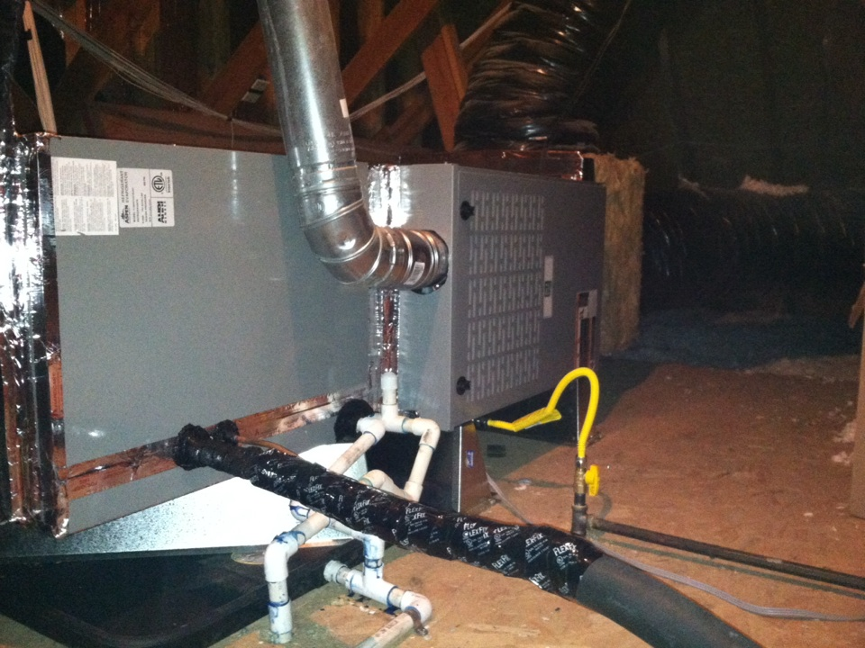 Granite Bay, CA - Two furnace and a/c changeout