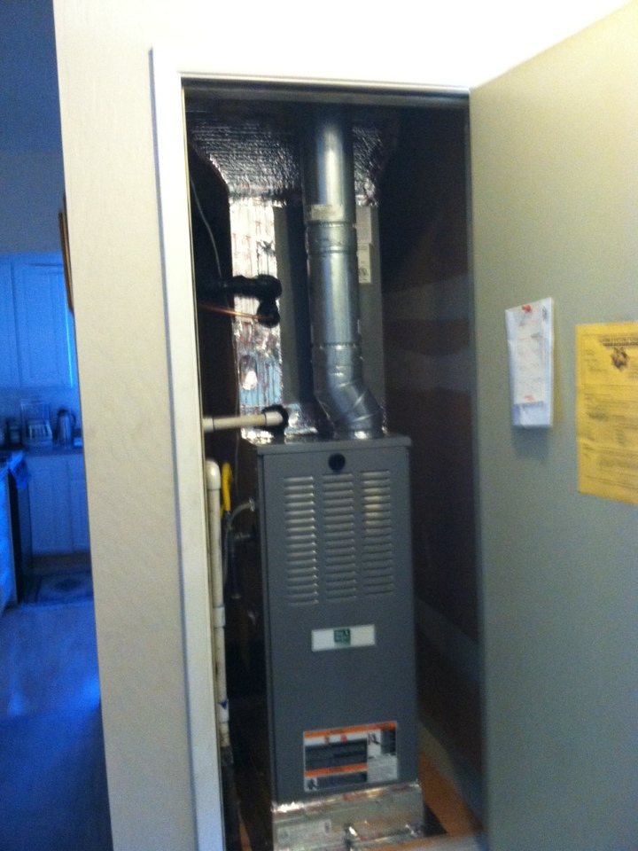 North Highlands, CA - Furnace and a/c replacement