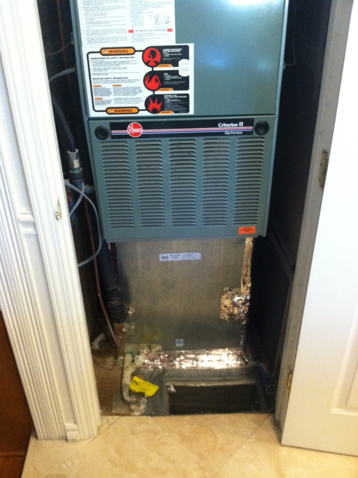 Yuba City, CA - Air conditioning Rejuvenation on a Lennox, complete maintenance on system.