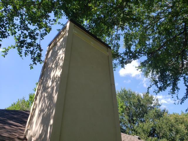 McKinney, TX - Chimney Pan, Trim Board Replacement