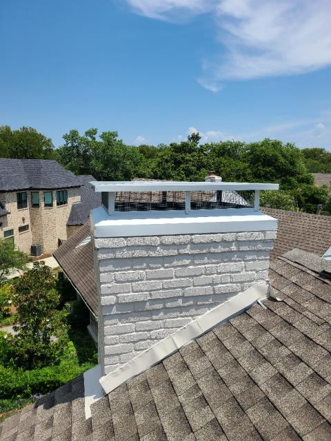Richardson, TX - Custom Chimney Cap