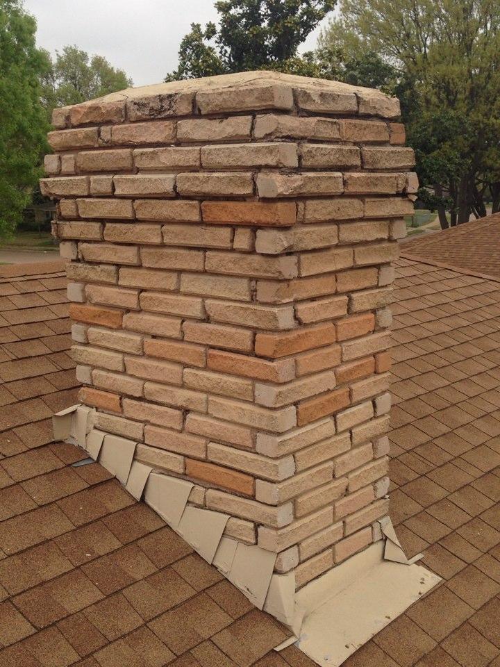 Garland, TX - Chimney cap measurements!