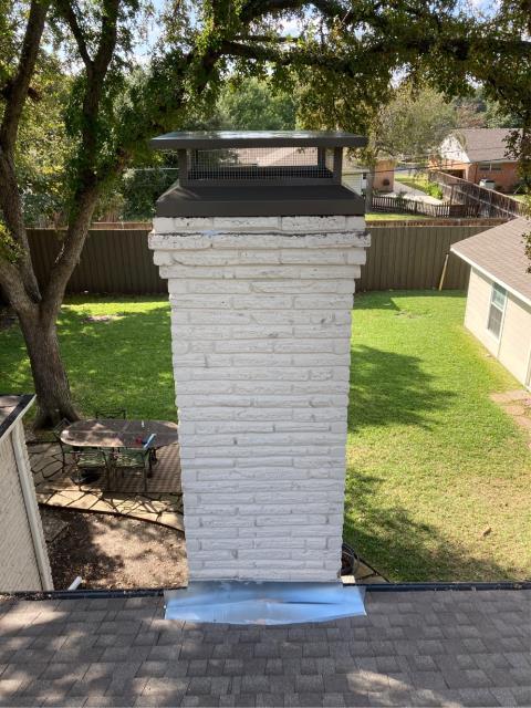 Dallas, TX - Tuck Point/Chimney Cap/Flashing