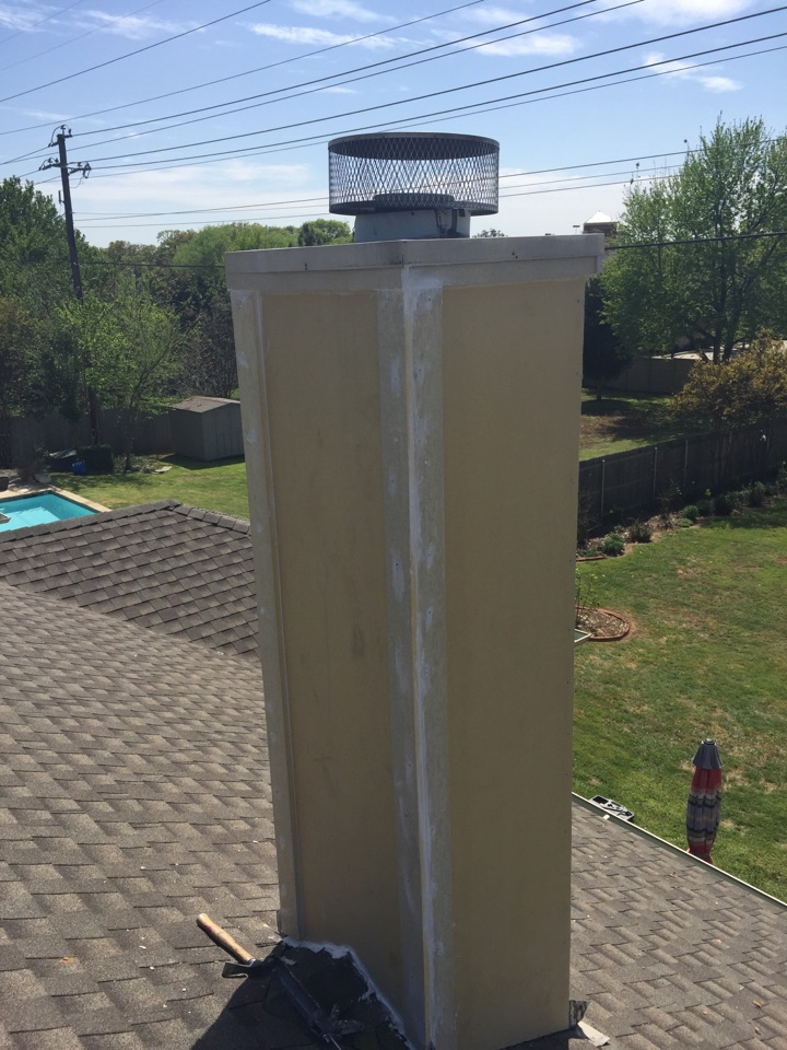 Grapevine, TX - Chimney rebuild