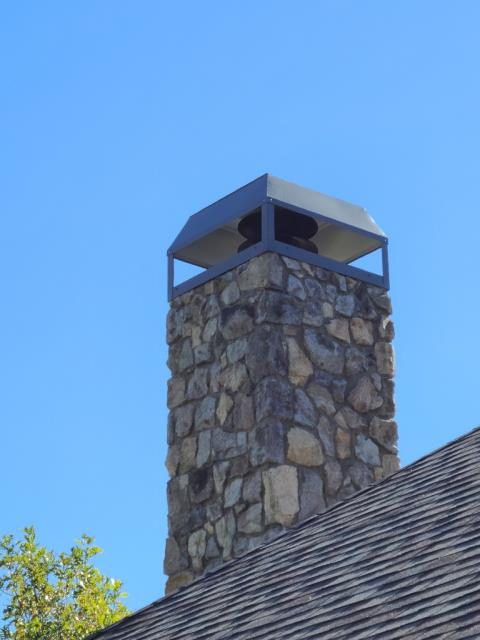 Rockwall, TX - Stevenson Chimney Cap
