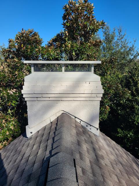 Dallas, TX - Crown repair/#1 Style Chimney Cap