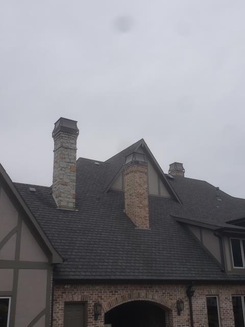 Southlake, TX - Waterproofing/Custom Aspen Chimney Caps