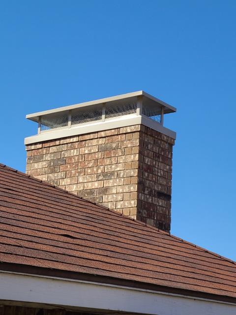 Carrollton, TX - #1 Style Chimney Cap
