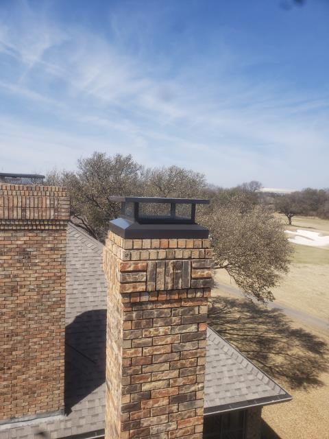 Dallas, TX - #1 Style Chimney Cap/Dryer Vent Cleaning