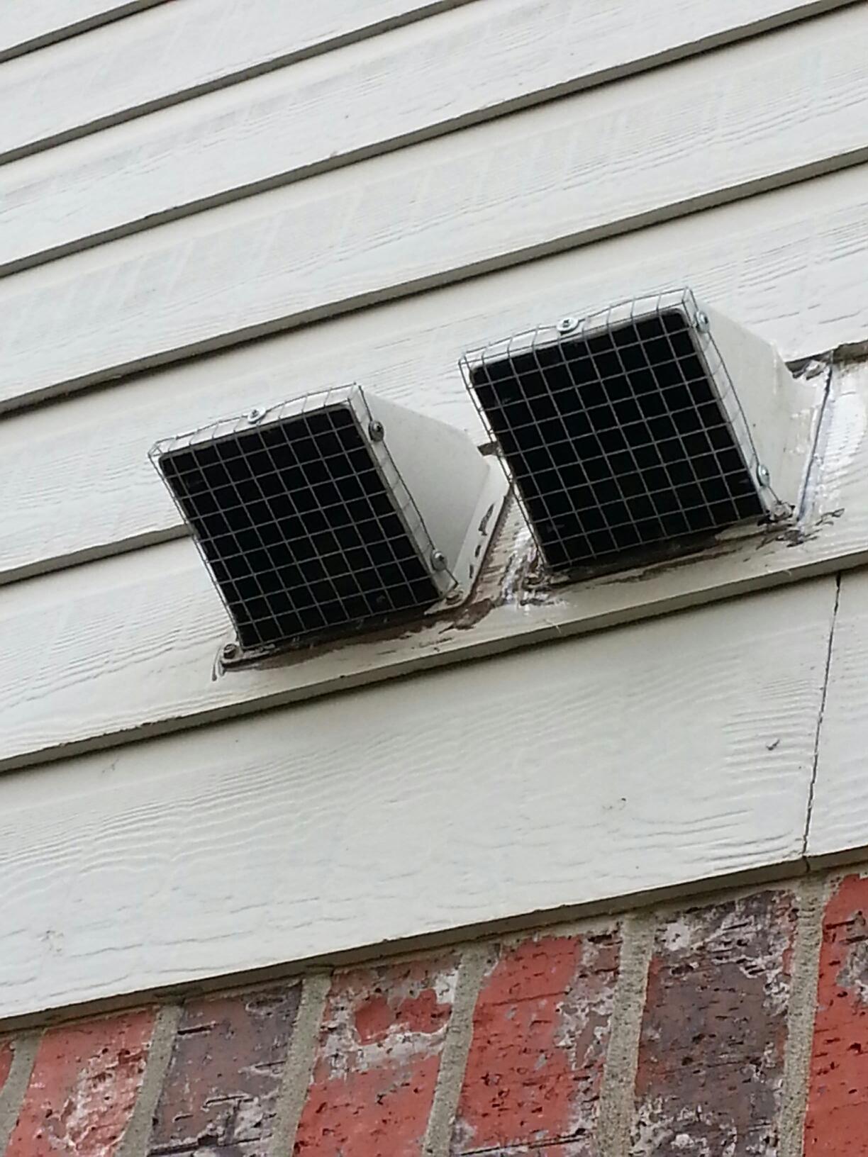 Pflugerville, TX - Bird's in vent