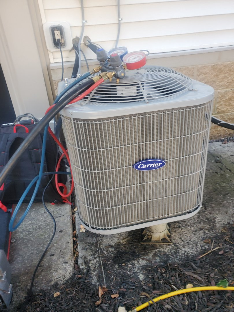 New Albany, OH - Replacing AC