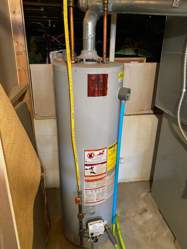 Blacklick, OH - Flushing a state select hot water tank in Blacklick Ohio