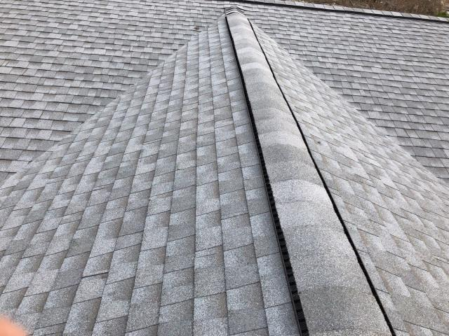 Alexander, NC - Completed Golden Pledge installation by Balken Roofing Asheville's Premier Residential Roofer.   Easy financing with a  variety of payment options available.