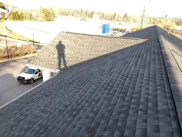 Asheville, NC - Completed Golden Pledge installation by Balken Roofing, continuing to set the standards for quality in roofing excellence in WNC for 25 years