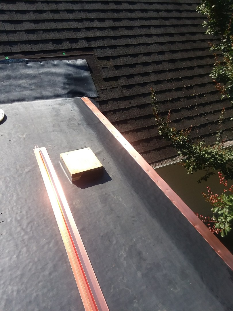 Asheville, NC - EPDM rubber roof today near Biltmore Forest - we do it all!