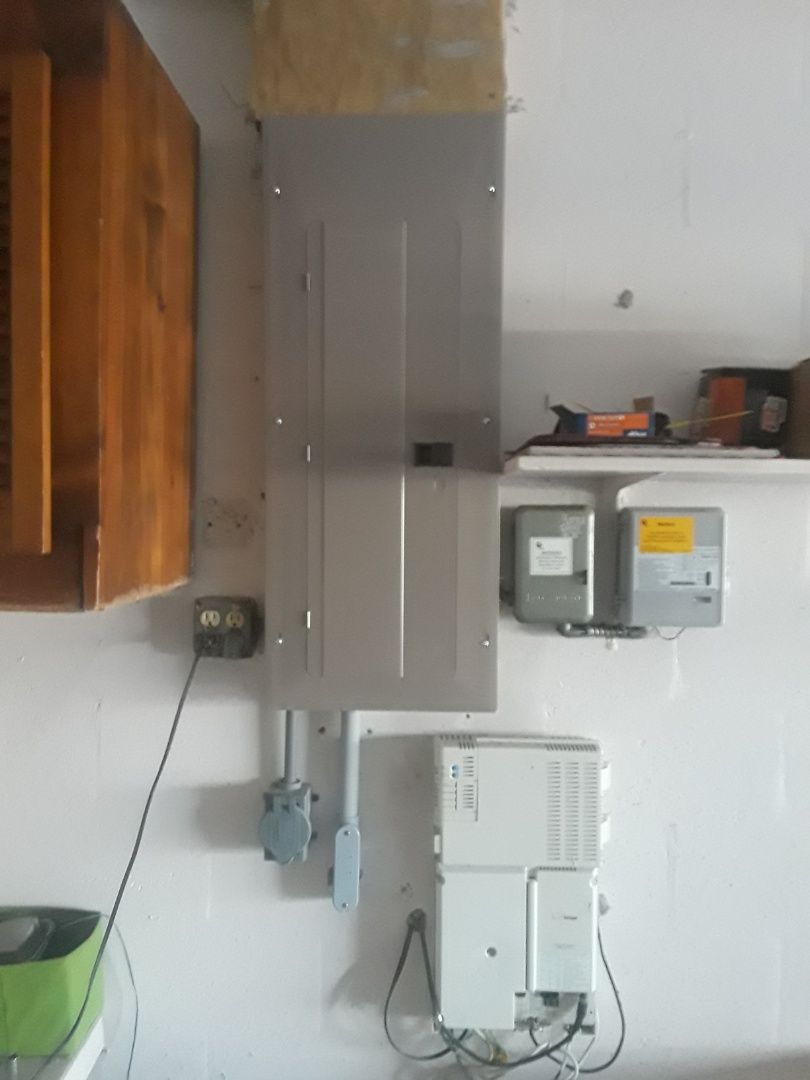Electrical service 200 amp. 200 amp electrical panel replacement. Electrical service replacement.