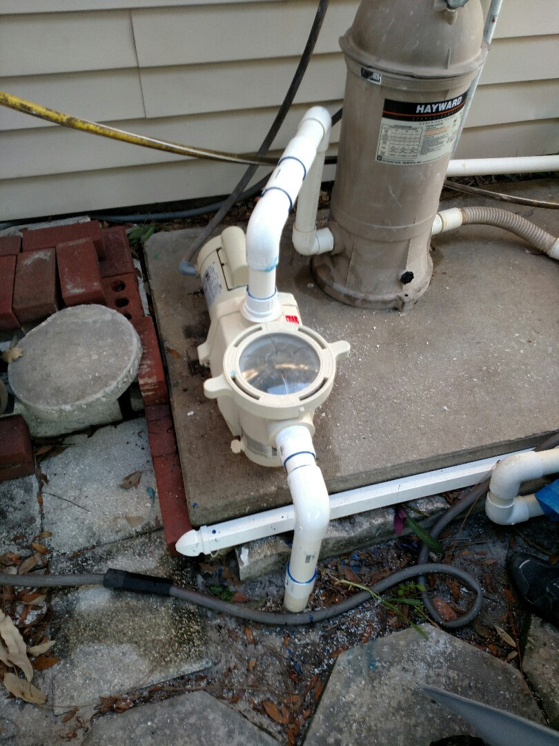 Port Charlotte, FL - Replaced 1hp pool pump