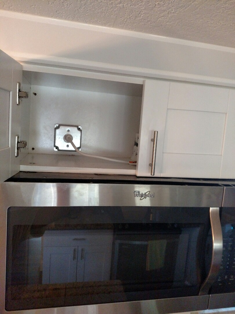 Sarasota, FL - Installed new microwave circuit and dishwasher circuit.