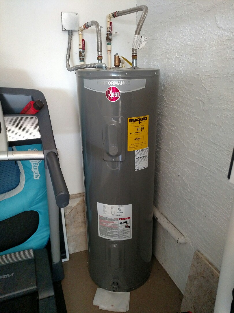 North Port, FL - Diagnosed hot water heater tripping breaker. Replaced 4500w element.