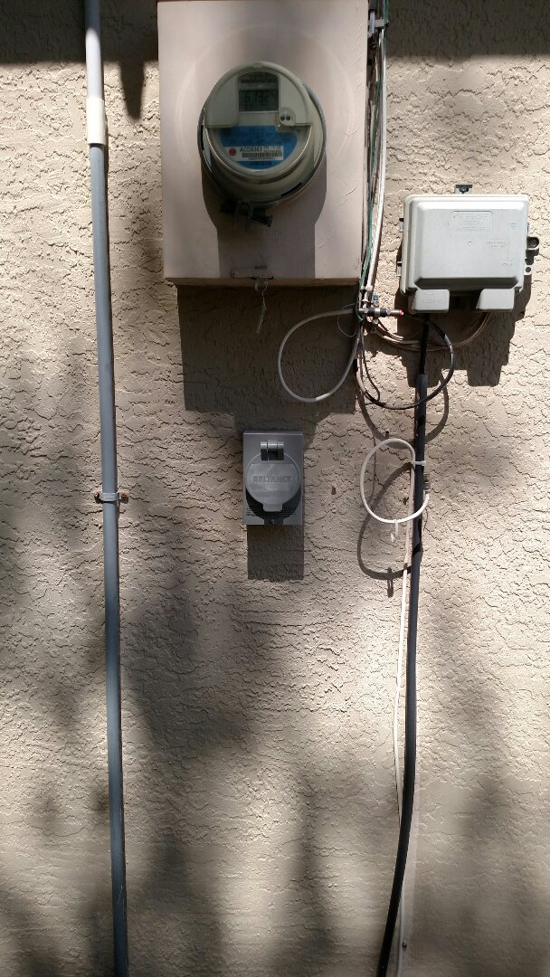 North Port, FL - Install 30 amp 240-volt generator Inlet, interlock kit for generator and a whole house surge protector.