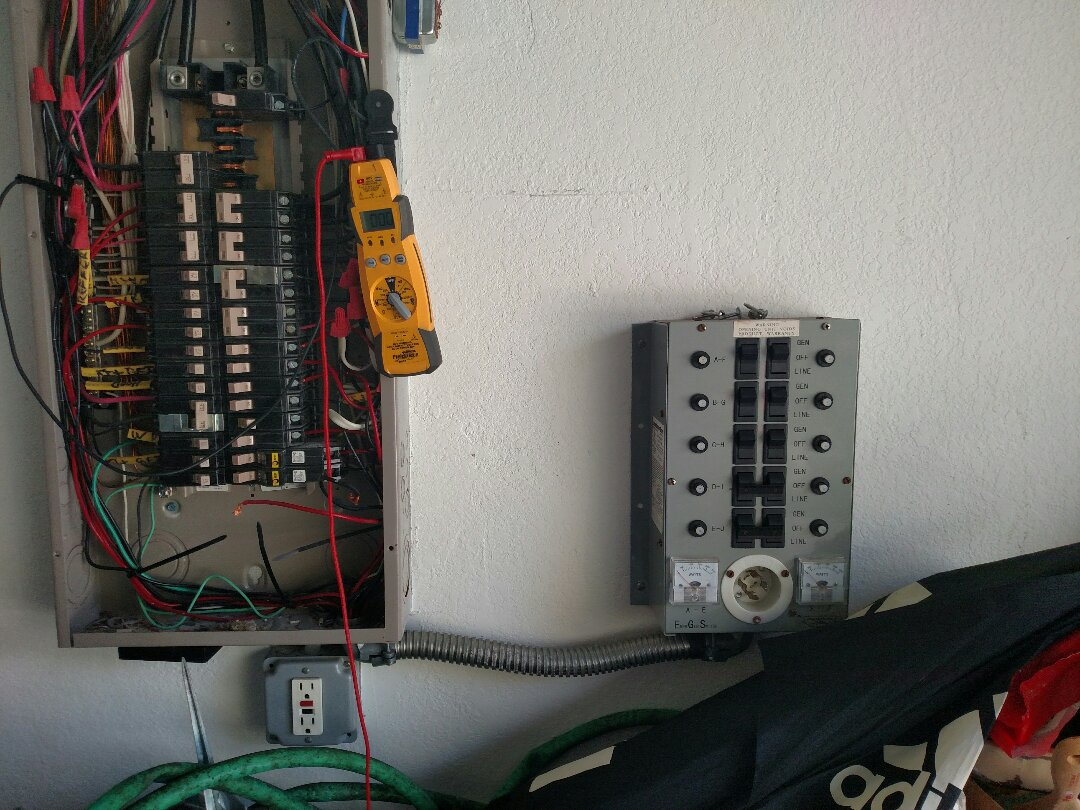 North Port, FL - Diagnosed bed room circuit not receiving any power. Found faulty generator switch.  Near me