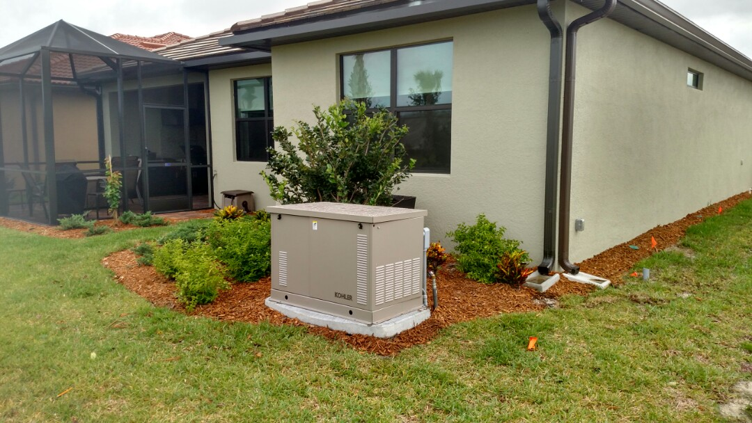Sarasota, FL - Installed 200 amp 20kw whole house Generator with 200 amp ATS.  electricians near me