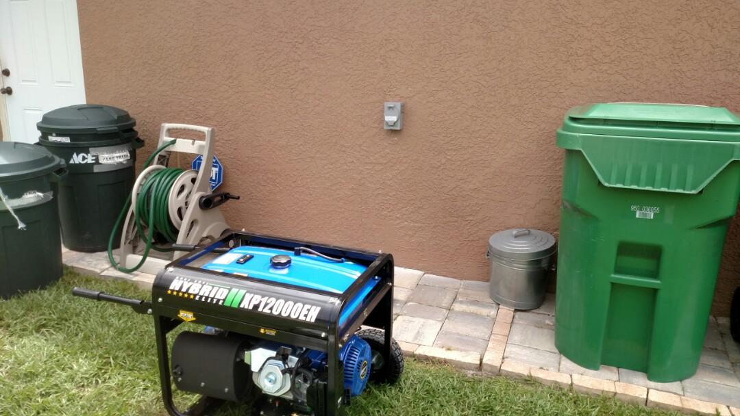 Port Charlotte, FL - Installed 50 amp inlet for portable Generator.