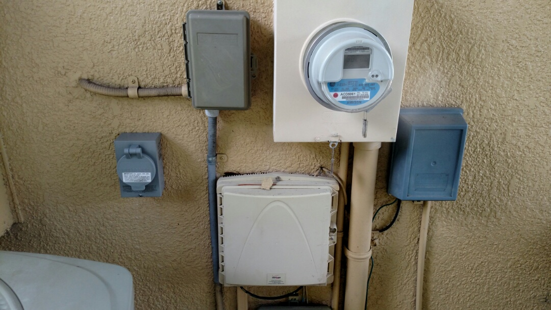 North Port, FL - Installed 240v 50 amp Generator inlet for portable Generator.   Near me