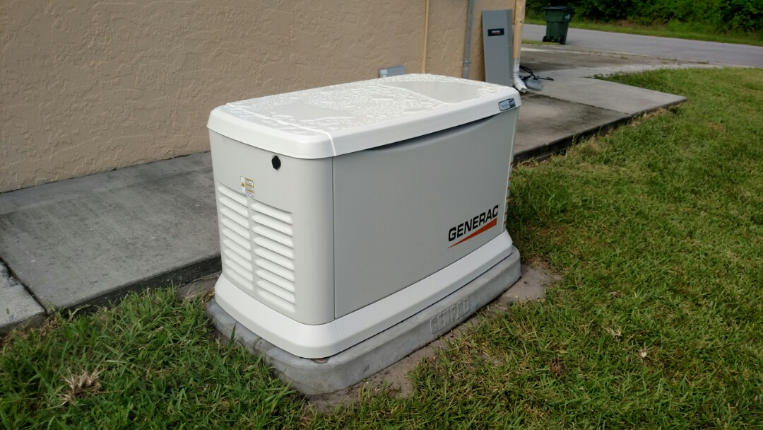 North Port, FL - Installed whole house generator with 200 amp automatic transfer switch