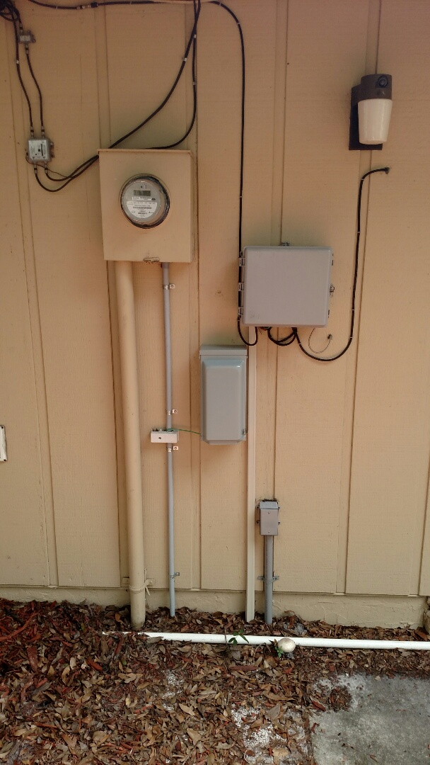 Palmetto, FL - Installed 50 amp inlet with interlok kit for portable Generator. Replaced recess can trims in kitchen with new LED trims.  Electrician near me