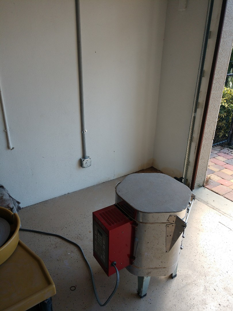 Osprey, FL - Installed new electrical wiring and breaker for 30amp 120v kiln.Electrician near me
