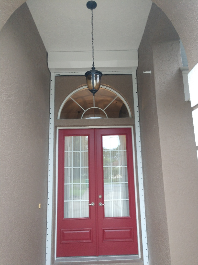 Port Charlotte, FL - Installed wiring for roll down hurricane shutters and replaced four smoke detectors