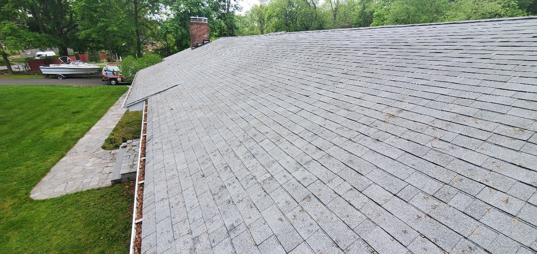 Westport, CT - Roof replacement, new Owen's Corning roof system will be installed in a few weeks.