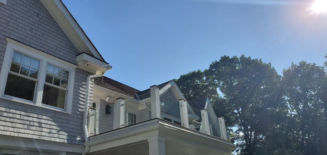 Greenwich, CT - Flat roof replacement