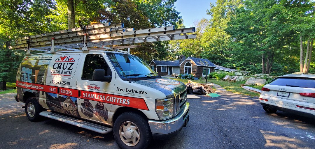 Weston, CT - Wood siding replacement.