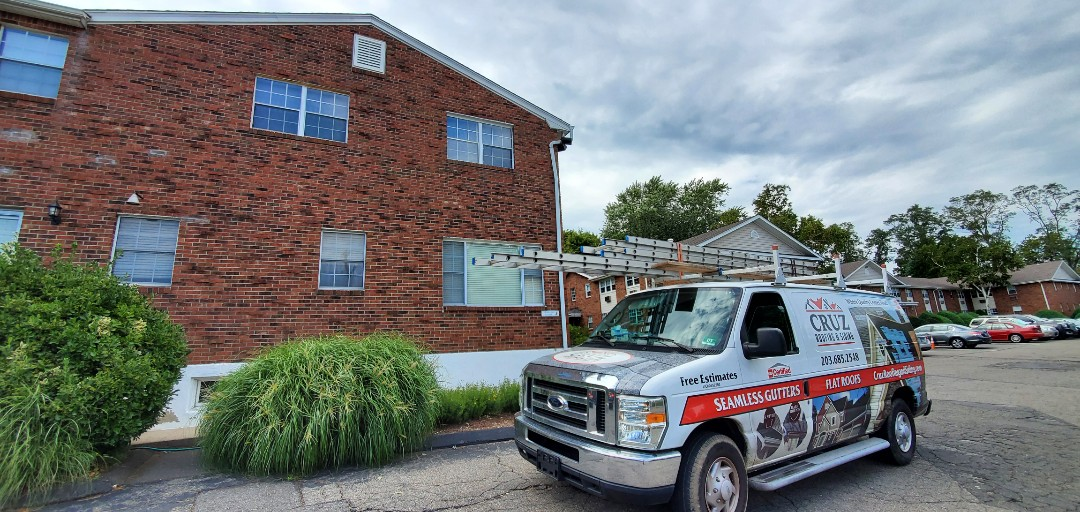 Fairfield, CT - Gutter replacement, aluminum  rain gutters