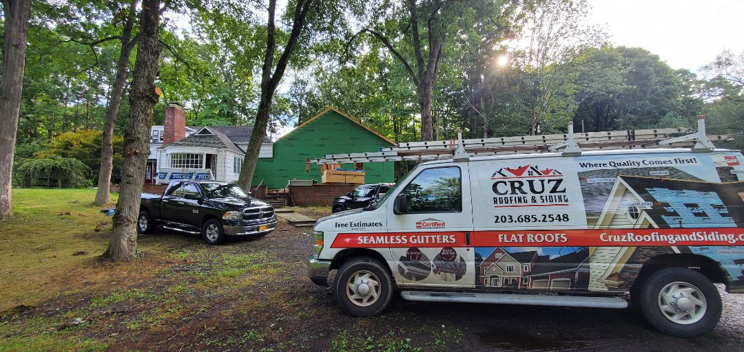 Westport, CT - Roof installation in two weeks. New Owens corning roof system.