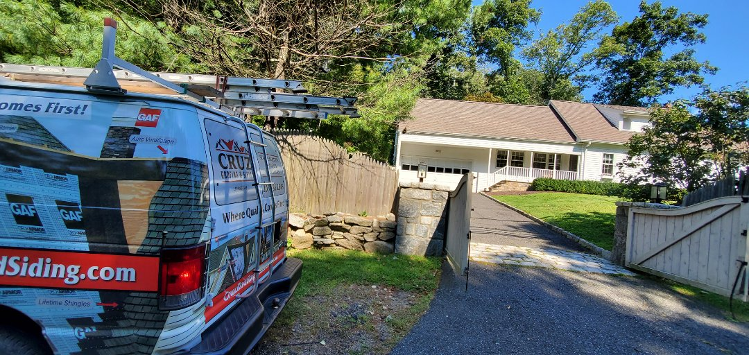 Greenwich, CT - Storm damage inspection