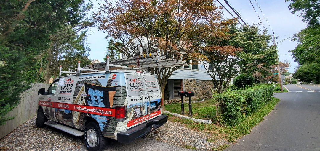 Greenwich, CT - Roof replacement and James Hardie siding in a few weeks.