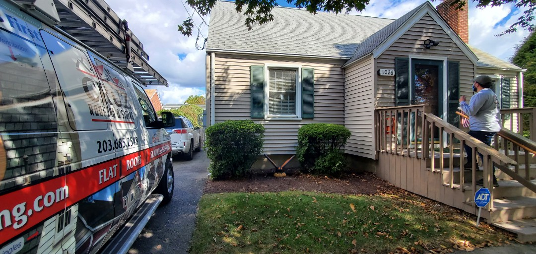 Fairfield, CT - Roof replacement, we will install a new GAF TIMBERLINE roof system.