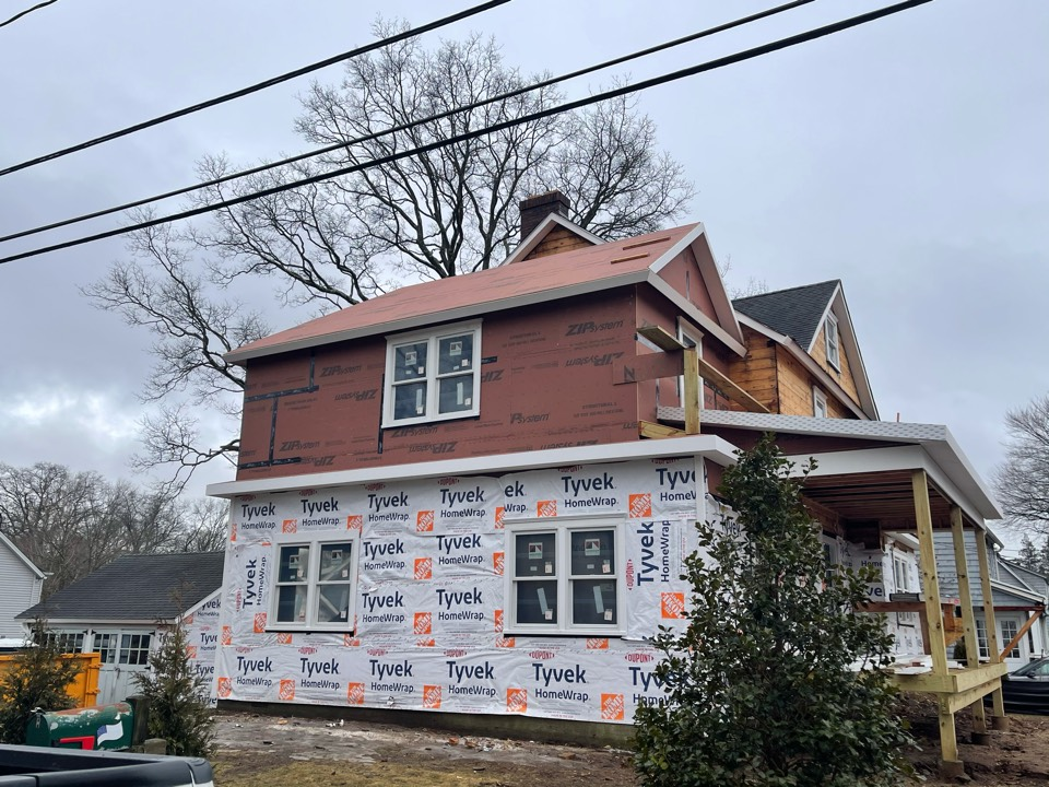 Greenwich, CT - We will be installing a new roof this week, roof replacement consist of a new GAF timberline roof system. Siding installation in a few weeks from today.